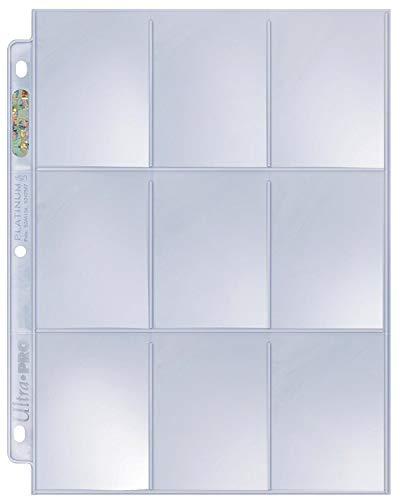 (Ultra Pro Platinum Series Hologram 9-Pocket Pages (100-Pack))