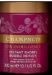 Champneys Spa Indulgence Distant Shores Bubble Heaven 300ml Champneys Health Spa