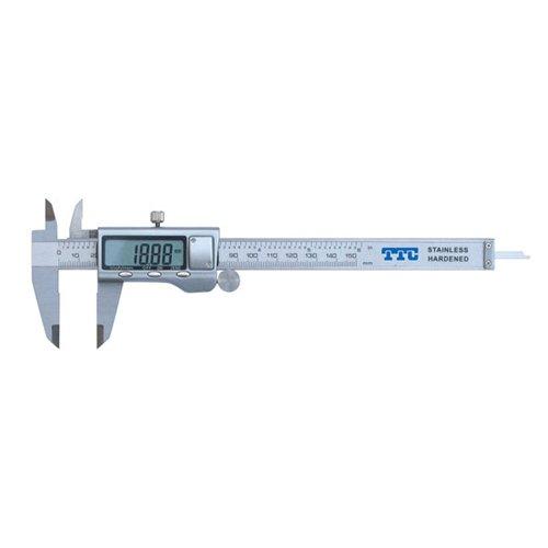 0-6'' Metal Casing Digital Caliper - TTC Similar to 500 Series by TTC (Image #1)