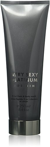 (Victorias Secret Very Sexy Platinum for Him 2-in1 Hair & Body Wash 250ml/8.4fl.oz.)
