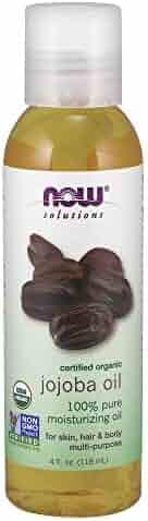 Now Solutions, Organic Jojoba Oil, 4 oz