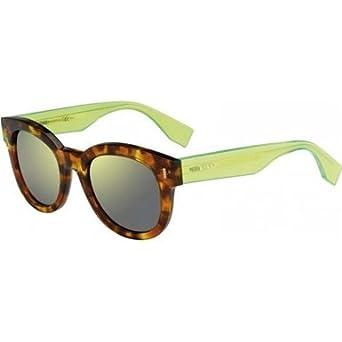 Original FENDI Sonnenbrille für Damen in grün