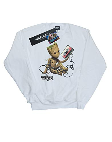 Groot Tape Galaxy Of Blanc Femmes The Marvel Maglia Guardian FnZwxTqPnv
