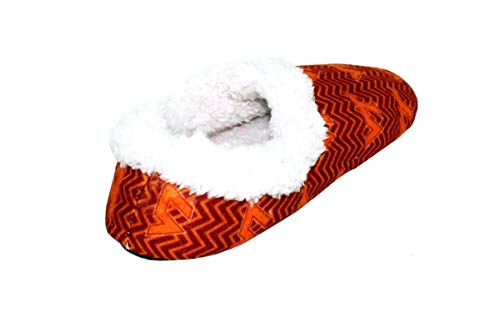 Mens Virginia Tech and Feet Officially Chevron Slip Happy Licensed College Hokies Womens NCAA On f5qwP