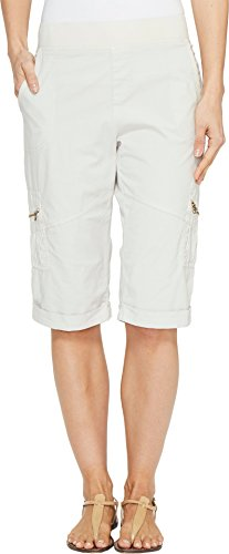 Poplin Cuffed Shorts (XCVI Women's Ricki Shorts North Star MD (Womens 8-10) 14)