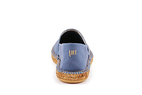 Viscata Mens Sitges Canvas Espadrillas Autentiche Ed Originali Realizzate In Jeans Spagna
