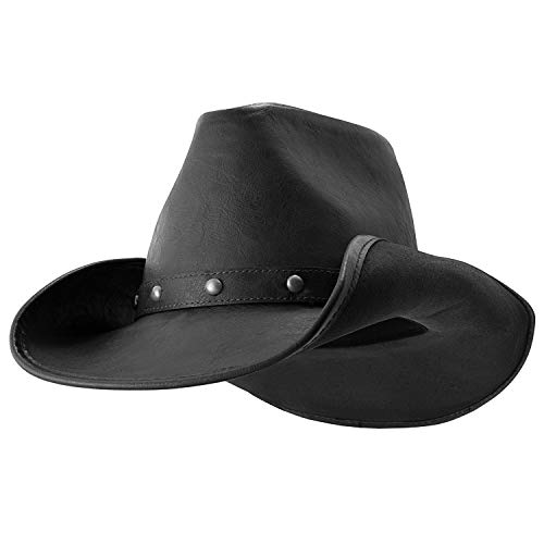- Broken Hill (Black) - Deadwood Trading • Australian Outback Cowboy Hat (Medium)