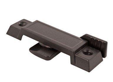 Prime-Line Sash Lock Vertical And Horizontal Sliding Windows 3/8'' Die-Cast Black Finish Carded