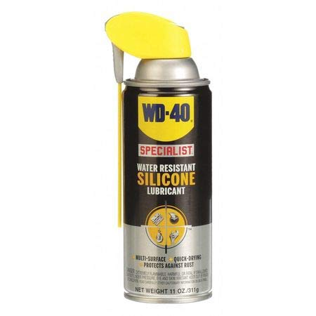 - WD-40 Specialist Water Resistant Silicone Lubricant with Smart Straw Sprays 2 Ways, 11 OZ [6-Pack] (2 case(6-Pack))
