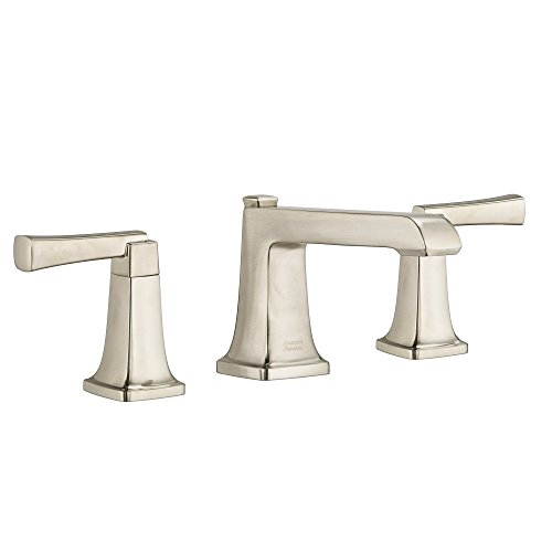 American Standard 7353841.295 Townsend 8 in. Widespread 2-Handle Bathroom Faucet with Speed Connect Drain in Satin Nickel