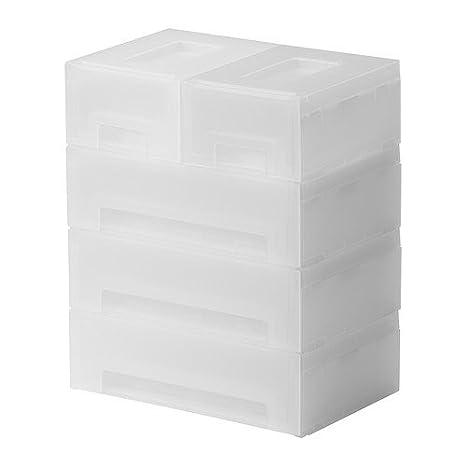 IKEA Kupol - almacenamiento extraíble, blanco - 27x18x32 cm: Amazon.es: Hogar