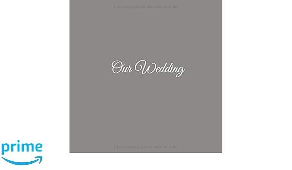 Our Wedding: Libro De Visitas Our Wedding para bodas decoracion boda accesorios decoracion ideas regalos eventos firmas fiesta hogar invitados fiesta . ...