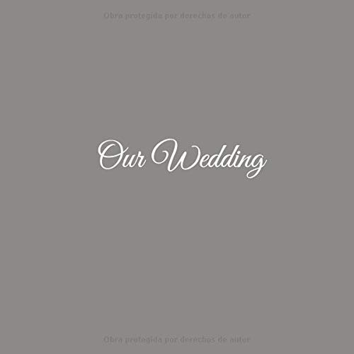 Our Wedding: Libro De Visitas Our Wedding para bodas ...