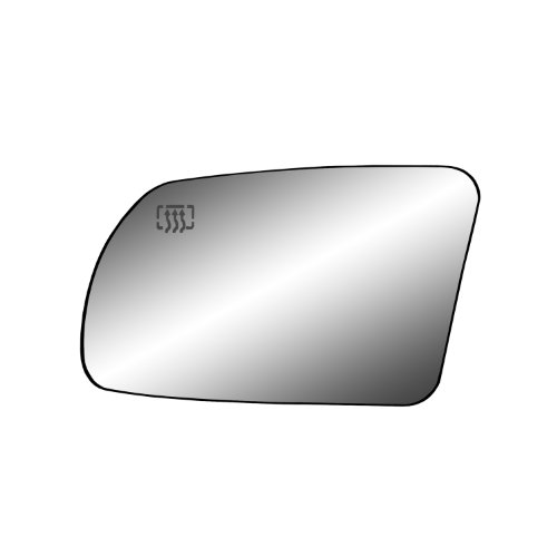 Fit System 33213 Nissan Altima 2.5L and 3.5L Engine Coupe/Sedan Left Side Heated Power Foldaway Replacement Mirror Glass with Backing Plate and Turn Signal