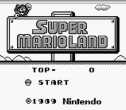 Amazon Com Super Mario Land Unknown Video Games