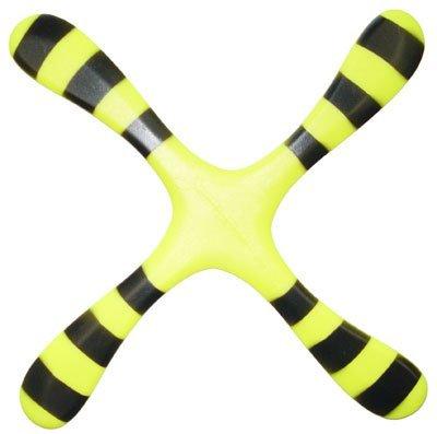 Left Handed Bumblebee Precision Boomerang - Easy Returning Boomerangs! ()