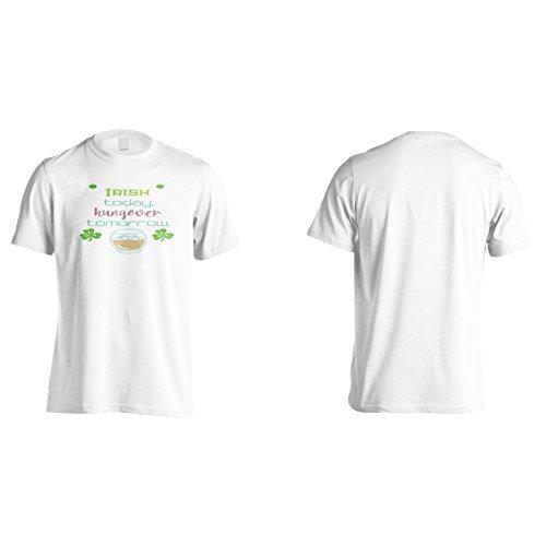 Irisch Heute Hungover Morgen Herren T-Shirt k836m