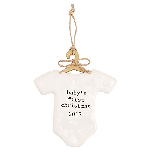 BABY'S FIRST CHRISTMAS 2017 ORNAMENT (Divas Halloween 2017)