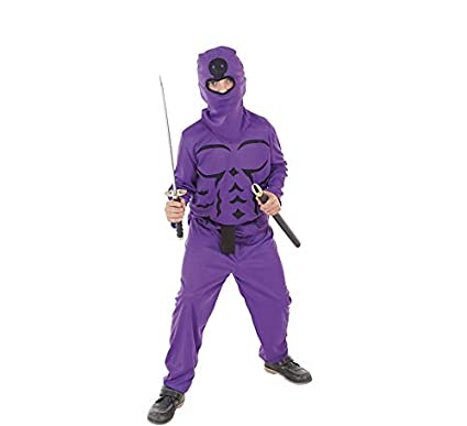 LLOPIS - Disfraz Infantil Ninja Lila t-m: Amazon.es ...