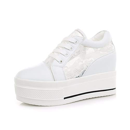 Thirty Shoes Bottomed Breathable Thick White Seven Ladies'Shoes Summer KPHY Mesh Casual nIqzxAY