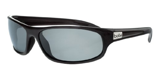 Bolle Sport Anaconda Sunglasses (Shiny Black/TNS) by Bolle