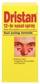 12 Nasal Hr Spray (Special pack of 5 DRISTAN 12-HR NASAL SPRAY 0.5 oz)