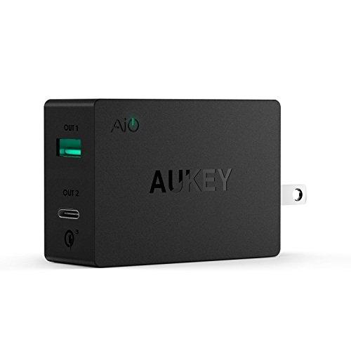 AUKEY Charger USB C iPhone Google