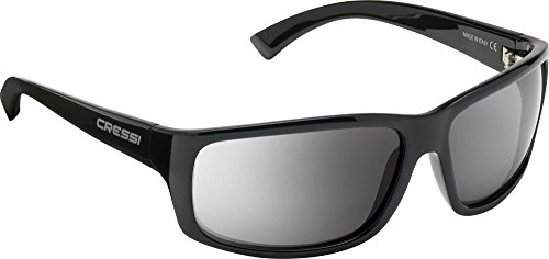 Reflejado Adulto 100 Deportivas Cressi Gris UV de Sol Anti Cristales Gafas Polarizados Brillante Negro para aCaqOTx