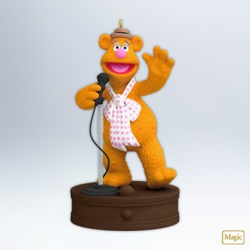 Fozzie Bear - The Muppets 2012 Hallmark Ornament - Fozzie Bear Muppets