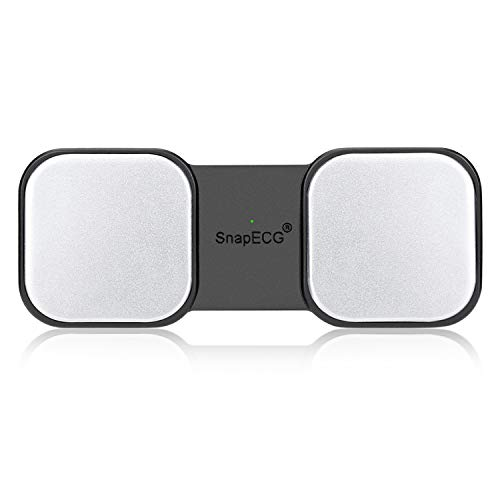 SnapECG Portable EKG Monitor, Handheld ECG Heart Monitor for Smartphone, Wireless Heart Performance Tracking Without ECG Electrodes Required, Home Use EKG Monitoring Device for iPhone, Android