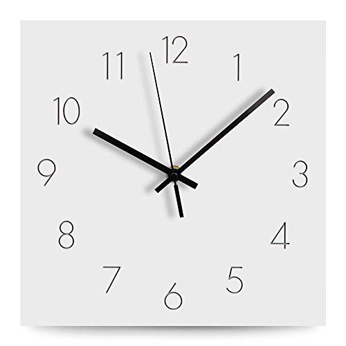 FlorLife Large Number Wall Clock, 12