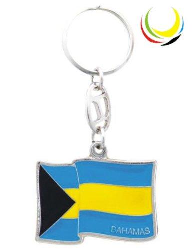 Keychain - BAHAMAS FLAG-