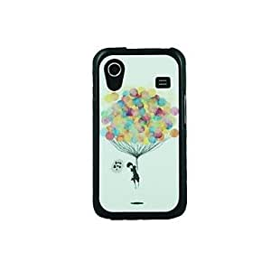 JJE Colorful Balloons Leather Vein Pattern Hard Case for Samsung Galaxy Ace S5830