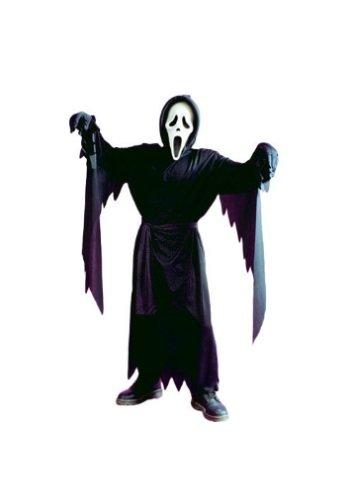 Scream 5 Costume (Bleeding Ghostface Costume Boy - Child 4-6)