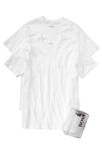 Hugo BossHerren T-Shirt Weiß Weiß