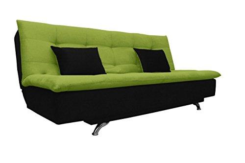 Adorn India Aspen Sit and Sleep Modern Design Wooden Sofa (Multicolour)