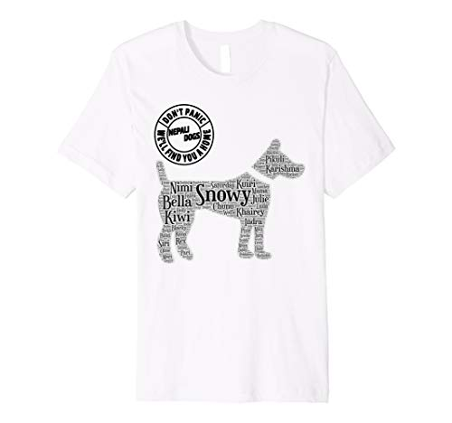 DOG Rescue Adoption T-Shirt Street Dogs And Cats Gift -