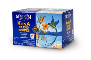 Magnum Exotics Kona Commingling Coffee K-Cups 12ct