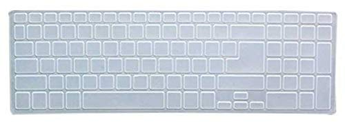 Saco SiliconeChiclet ProtectorCoverFitforAcer Aspire E15 E5 571 Laptop   Transparent