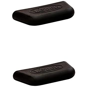 Lodge Black Silicone Assist Handle Holder, Set of 2