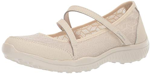Skechers Women's Be-Lite-Eyes on Me Sneaker Natural 10 M US