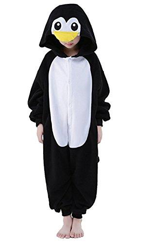 Eamaott Childrens Penguin Costumes Animal Onesies Kids Homewear Pajamas 95 ()