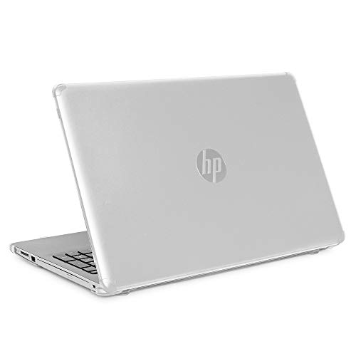 """mCover Hard Shell Case for 15.6"""" HP 15-DA0000 Series (15-DA0000 to 15-DA9999) Notebook PC (NOT Fitting Other HP 15"""" Pavilion or Envy laptops) - HP-15DA Clear"""