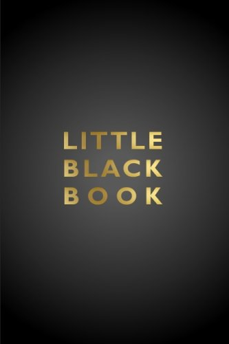 Download Little Black Book and Address Journal: Pocket Sized (4 x 6 Inches) Notebook For Storing Contacts (Address, Email, and Phone Numbers pdf epub