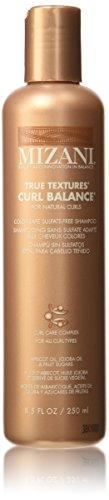 True Curls Shampoo (Mizani True Textures Curl Balance Moisturizing Shampoo Unisex, 8.5 Ounce)