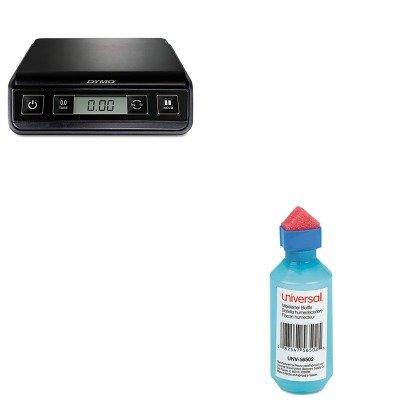 KITPEL1772055UNV56502 - Value Kit - Universal Squeeze Bottle Moistener (UNV56502) and Dymo M3 Digital Postal Scale (PEL1772055)