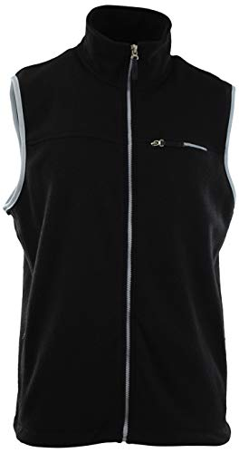 - ChoiceApparel Men's Soft and Durable Sweater Vest Body Warmer (Many Colors and Styles to Choose from) (L, and-Black)