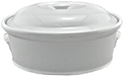 BIA Cordon Bleu 4-Quart Oval Casserole, White