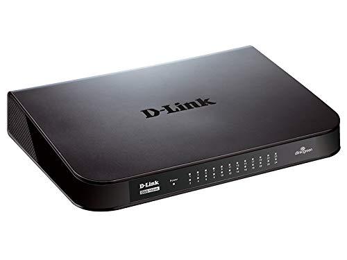 D-Link DES-1024A-24 Port Fast Ethernet Unmanaged Desktop Swi