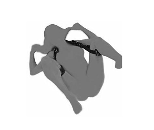 Omos Damen und Herren SM Kunstleder Bondage-Sets Fesselset Schwarz Spreader Körper Fessel Set Fetisch Harness Bedroom Sexspielzeug